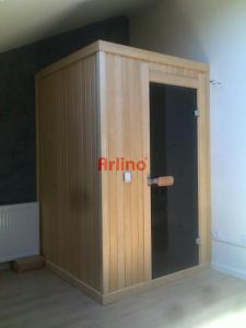 Ev Tipi 2 Kişilik Sauna Kabini