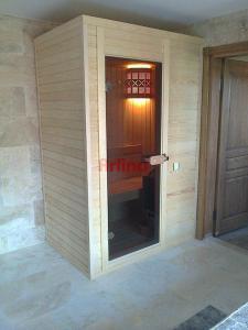 1 Kişik Klasik Sauna Kabini