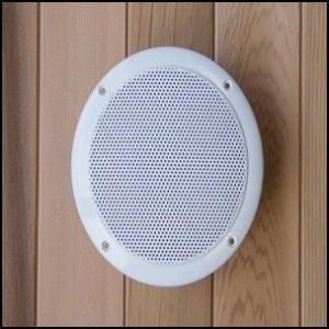 Ses sistemi sauna kullanımı esnasında müzik dinlemenize olanak tanır.
